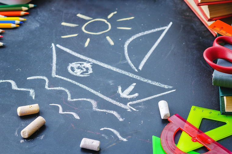 school-background-with-books-chalks-penc