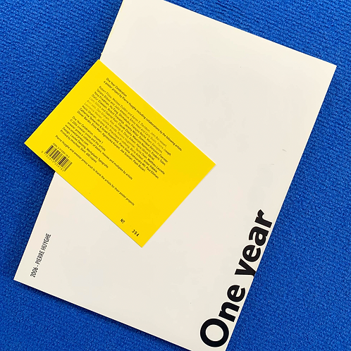 One year celebration, vol. 1 by Pierre Huyghe