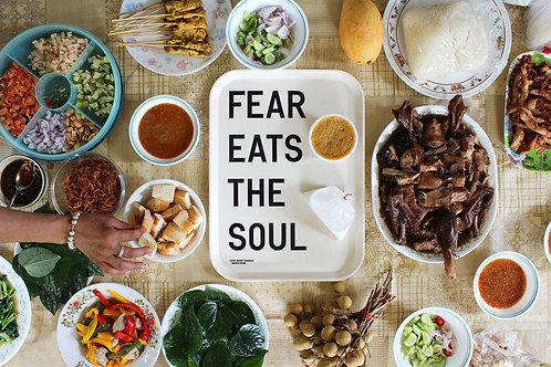 FEAR EATS THE SOUL by Rirkrit Tiravanija