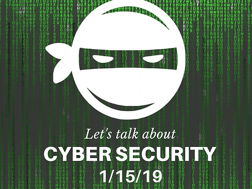 Cyber Security Day Camp - Flyer or FB Post