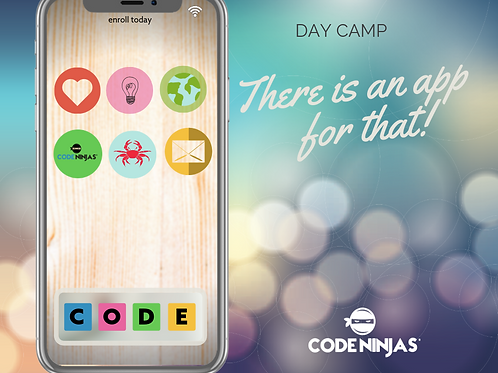 """""""There is an app for that"""" Day Camp"""