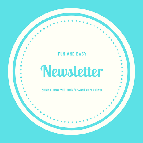 This Month's Newsletter