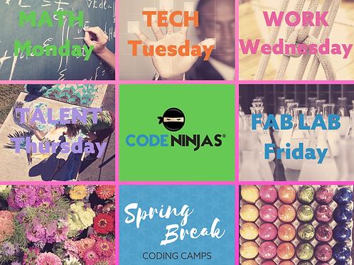 Spring Break Camps - Facebook Post