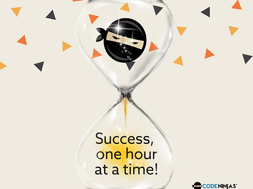 success one hour at a time - Facebook Post