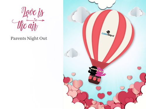 Valentines Parents Night Out - Facebook Post