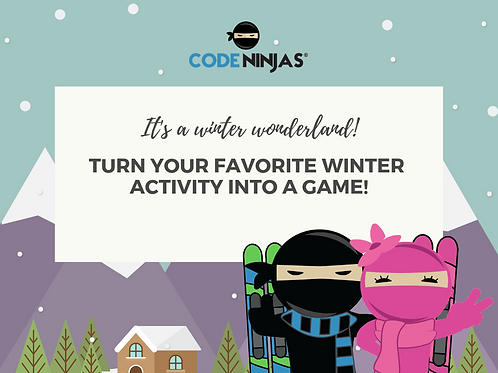 Winter activity into video game - Facebook Post
