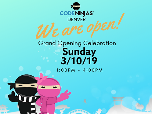 Winter Grand Opening Celebration