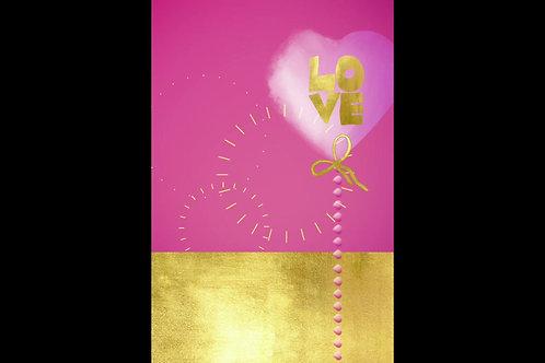 Golden Valentines Clipart