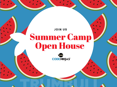 Summer Camp Open House- Facebook Post