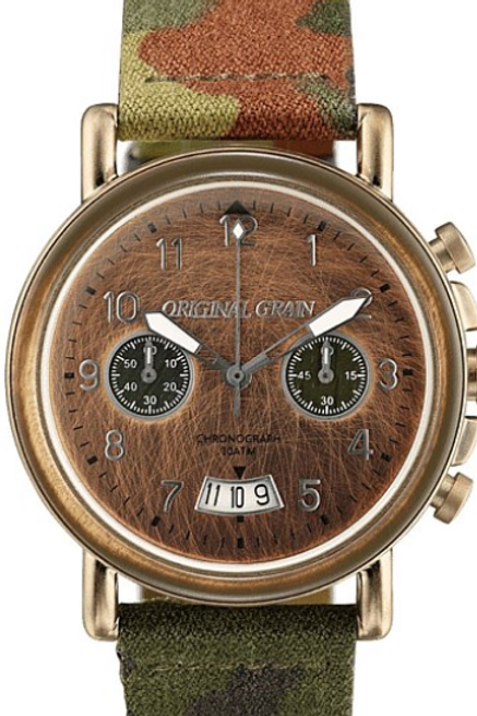 Original Grain Chronograph Camofliage Watch
