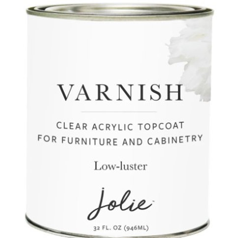Jolie Varnish Low-Luster 946ml
