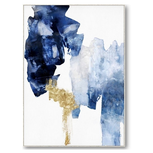 Abstract Blue and Gold 2