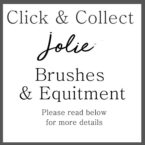 Click and Collect  Jolie Brushes & Equitment