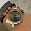 Thumbnail: Original Grain 47mm Burlwood & Silver Watch