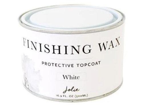 Jolie Finishing Wax - White