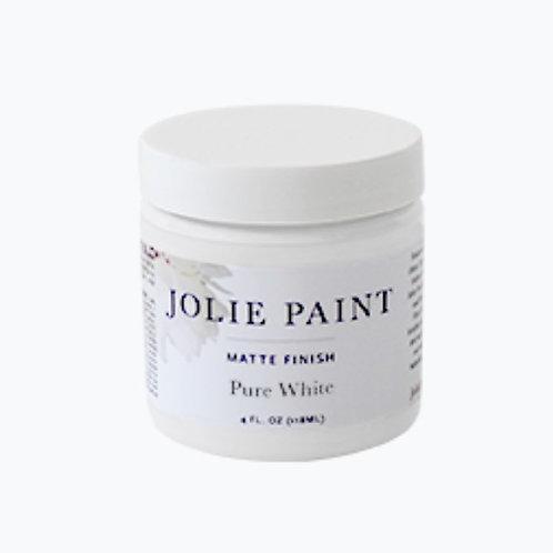 Jolie Paint 118 ml - Colours - Pure White to Noir