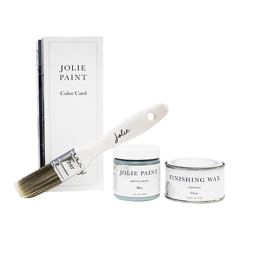 Jolie - Small Project Kit - Colours  Pure White to Noir