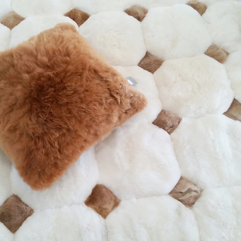 Alpaca Floor Rug/ Bed Spread