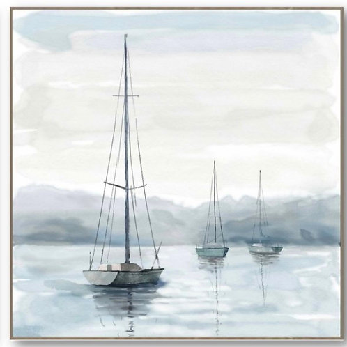 Yachts on the bay