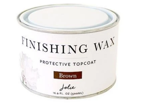 Jolie Finishing Wax - Brown