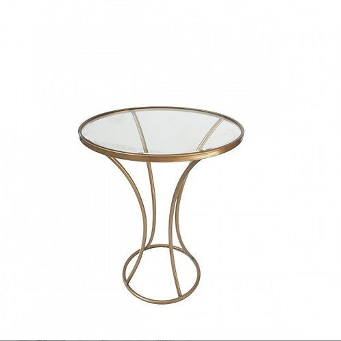 Gold Table Round