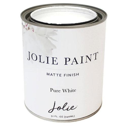 Jolie Paint - Colours - Pure White to Noir