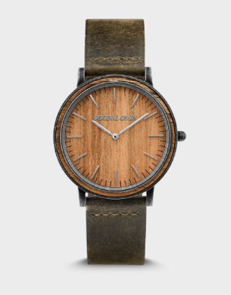 Original Grain Koa Stonewashed minimalist 40mm
