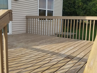 1 day deck transformation