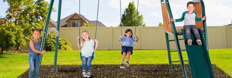 Alta Oaks Swing Set
