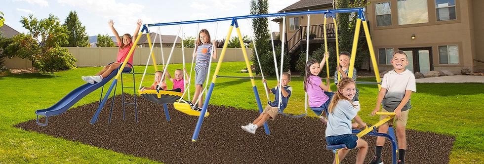 Super 10 Metal Swing Set