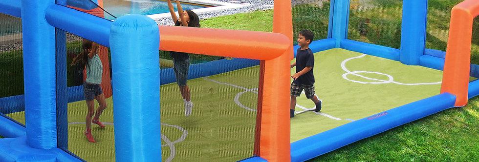Inflatable Fly Slama Jama Basketball Court