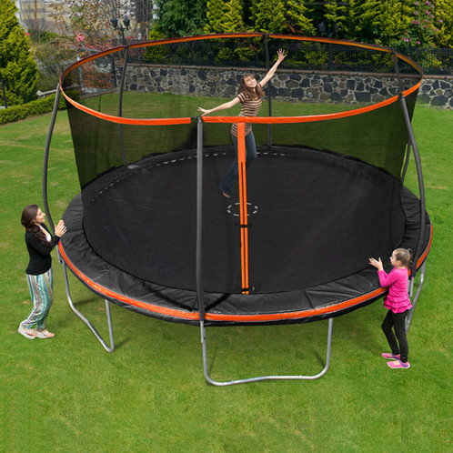 15 Ft Trampoline With Steelflex