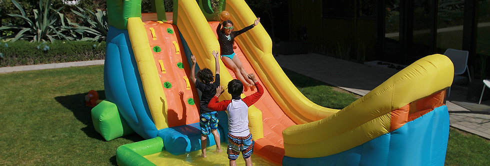 Inflatable Half Pipe