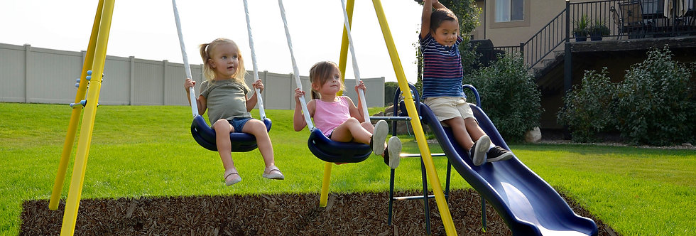 Power Play Time Swing Set