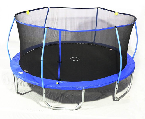 15 X 17 Ft Steelflex Oval Trampoline