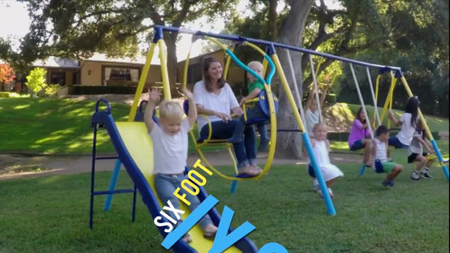 Super 10 Me and My Toddler Swing Set | Outdoor Play Equipment ...