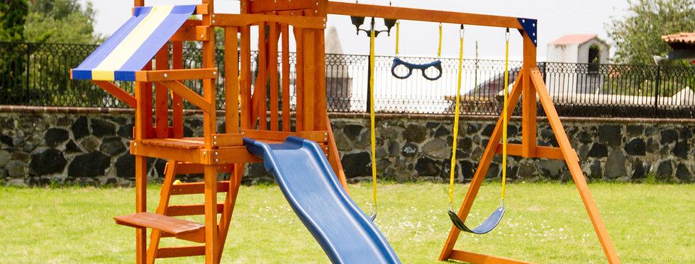 Sunnyslope Wooden Swing Set