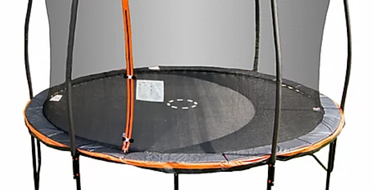 13ft Trampoline with Steelflex Pro Enclosure and Electron Shooter game