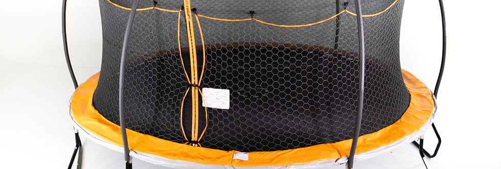 15ft Takeoff Station Steelflex Trampoline with Electron Shooter