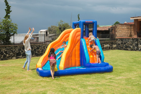 Big Wave Inflatable Water Slide
