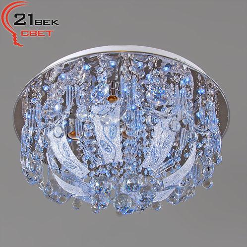 80175/500/5 (1) CR Светильник бытовой потолочный, со светодиодами и дистанционны
