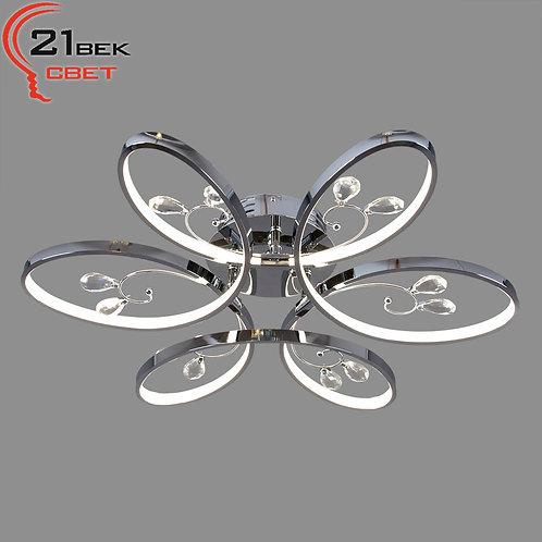 9090/6S CR (1) Светильник бытовой потолочный (светодиодная лента 3x26W(78W) 4000