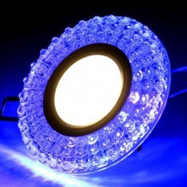 Светильник встраиваемый с подсветкой