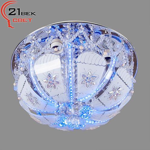 70027/400/4CR (1) Светильник потолочный со светодиодной подсветкой и дистанционн