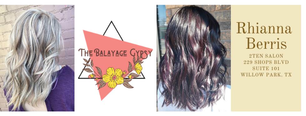 Pink and Yellow Photo Beauty Hair Facebo