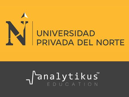 Universidad Privada del Norte (UPN) elige la solución de IA Foresight de Analytikus