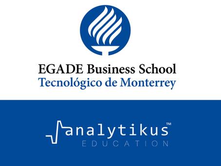 EGADE Business School y Analytikus colaboran para analizar contenidos formativos con IA