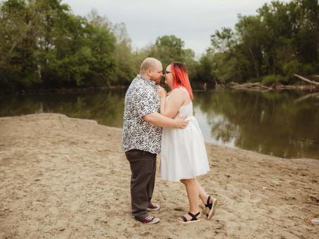 Samantha & Rick Columbus, Indiana engagement session