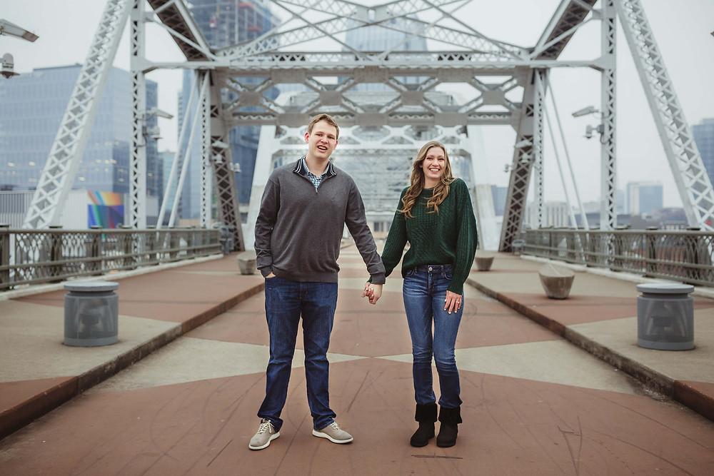 Nashville Shelby Street Pedestrian Bridge