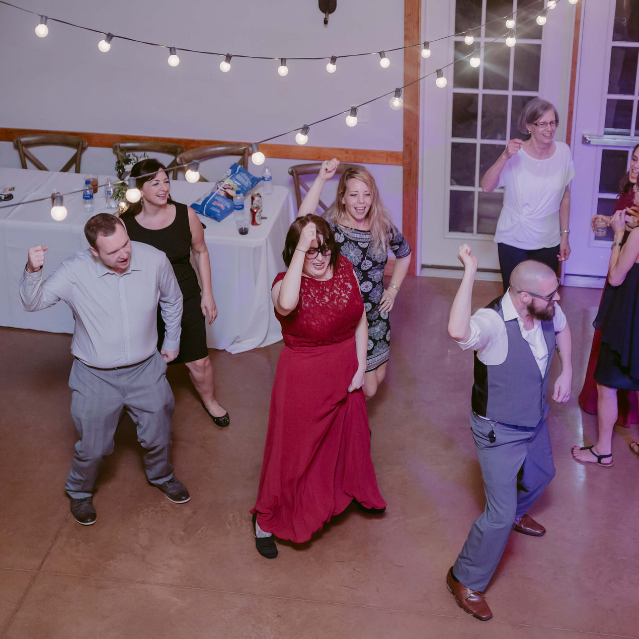 Wedding reception at the Marmalade Lily